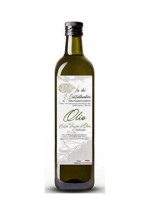 olio extravergine del Molise in bottiglia