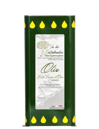 Olio Extravergine del Molise in latta 25 lt