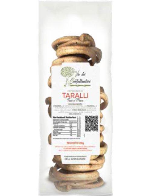 Taralli Integrali di Grani Antichi e Olio Extravergine al peperoncino